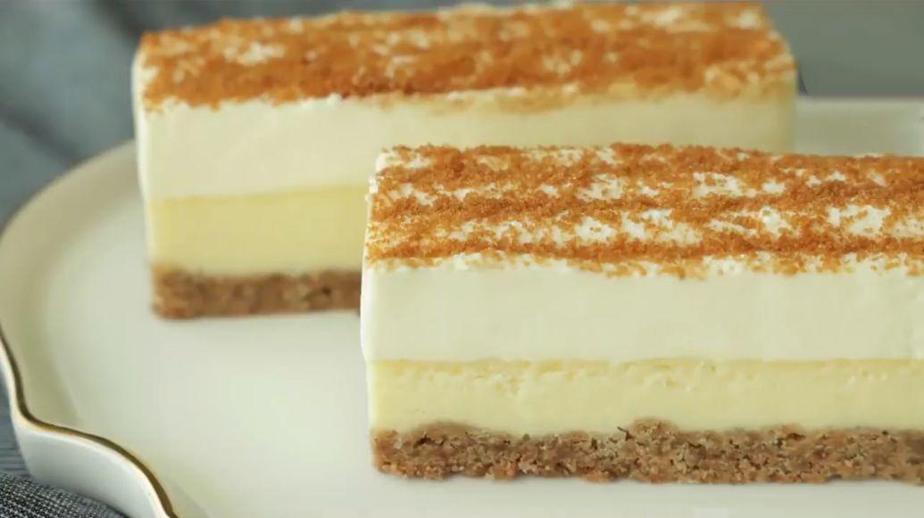 超稳定奶油蛋糕,不用吉利丁稳定酱,夏天这么做就对了!