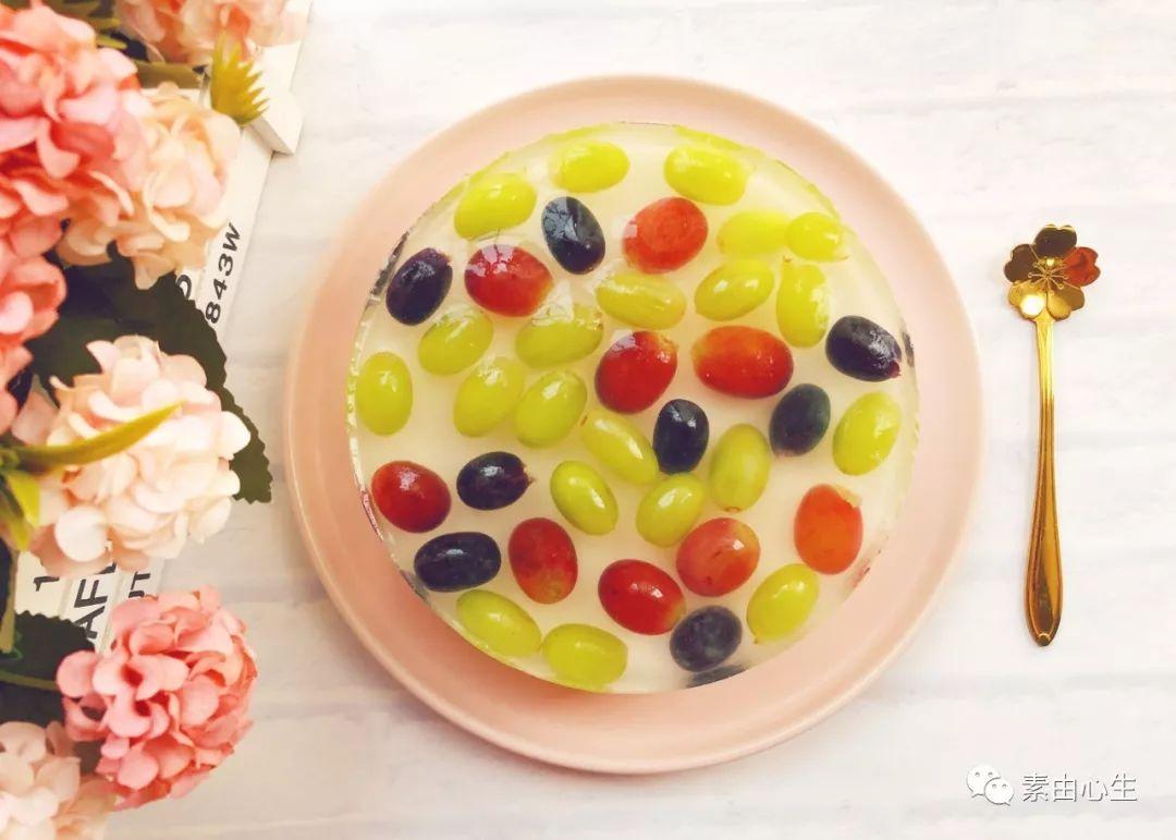 自制水果蛋糕(无蛋奶),不用烤箱,冰冰凉凉不上火,消暑好吃!