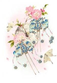 师希沫:蝶与花