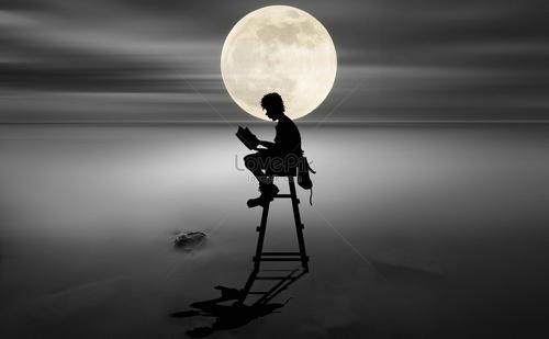 李汉荣:月光下的探访