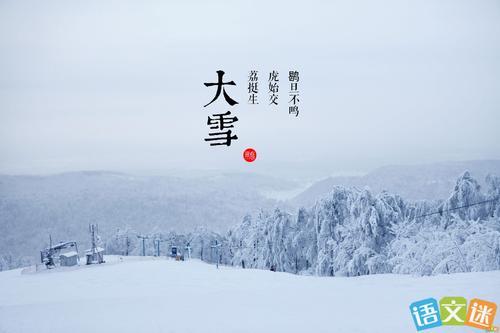 大雪:未若柳絮因风起