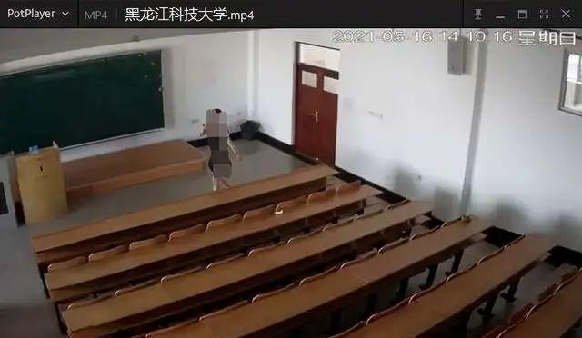 黑科技大学情侣在教室做出羞羞事:偷拍让他们成了热门事件的主角!